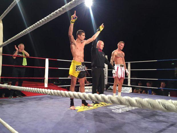 Али Юзеир с нова победа в профи ринга