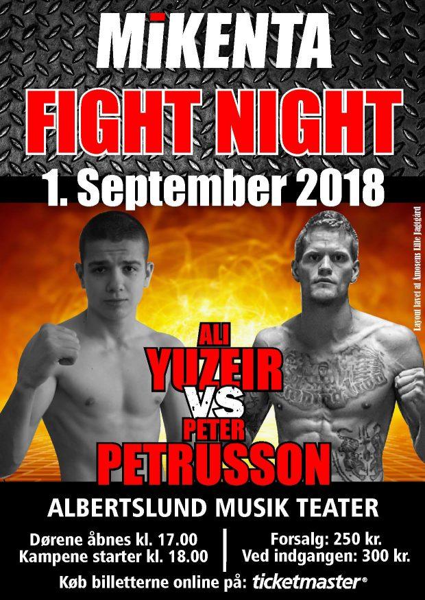 Али Юзеир с нова победа на профи ринга !!!