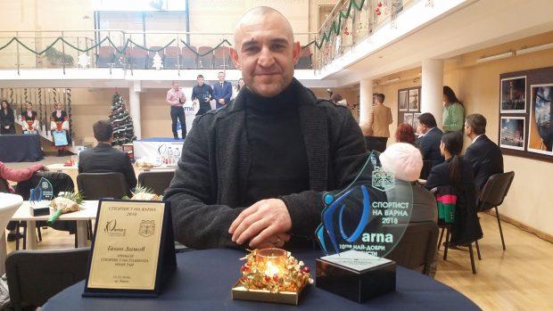 Галин Димов - треньор на спортист на годината Муай Тай 2018