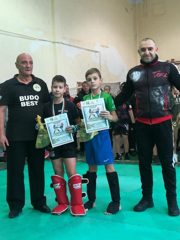 Награждаване от Галин Димов