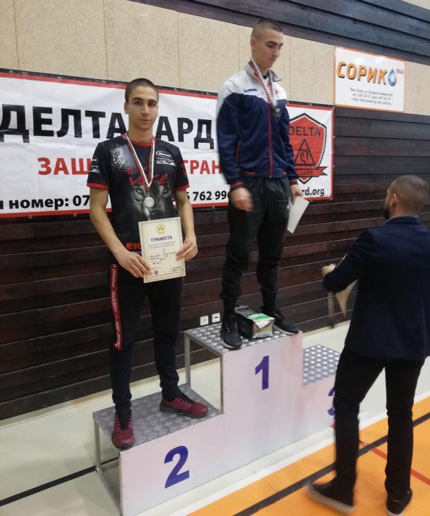 Второ място за Николай Димитров