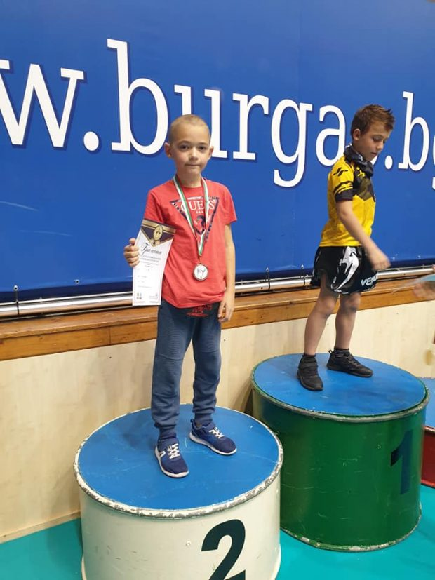 Георги Димов - дебют в бойните спортове и сребърен медал